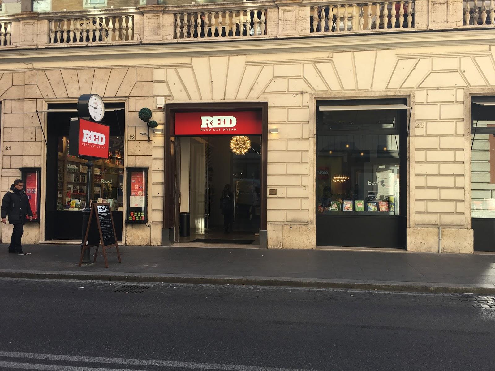 libreria red roma