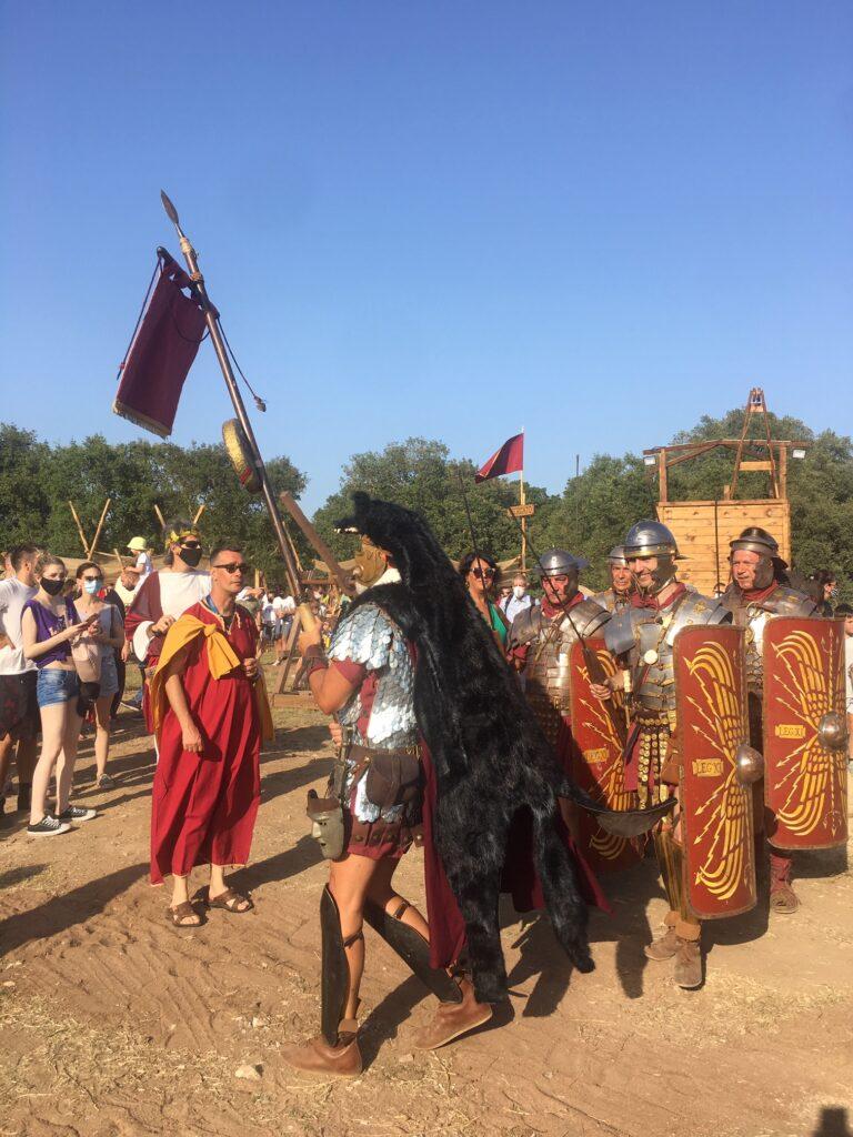 parata antichi romani