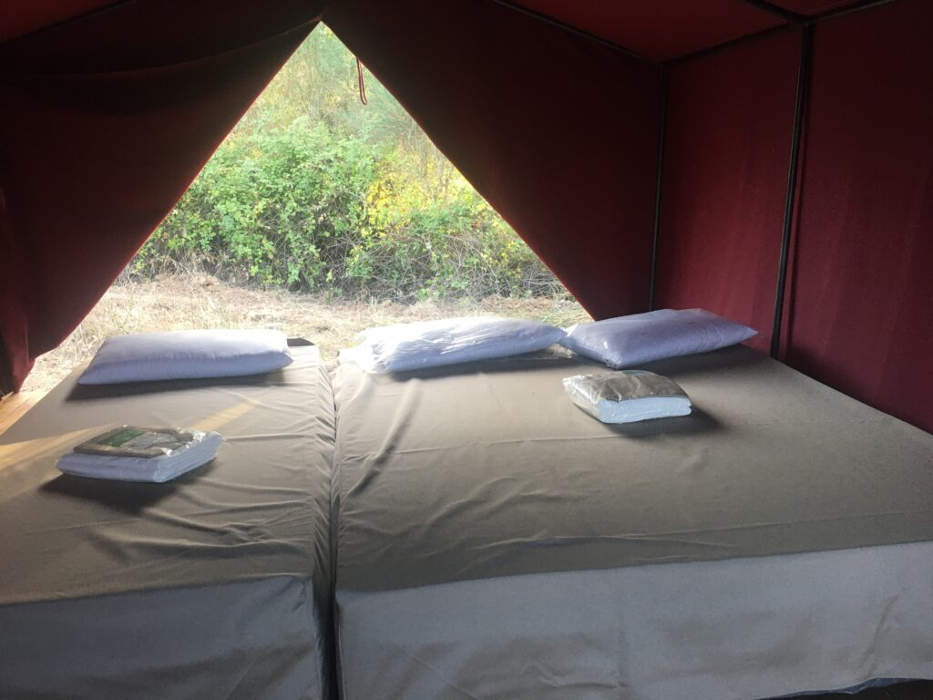 interno tenda romana