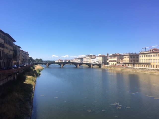 ponte e fiume firenze