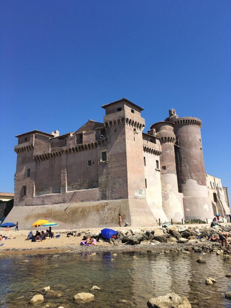 castello in Italia, castello santa severa sul mare