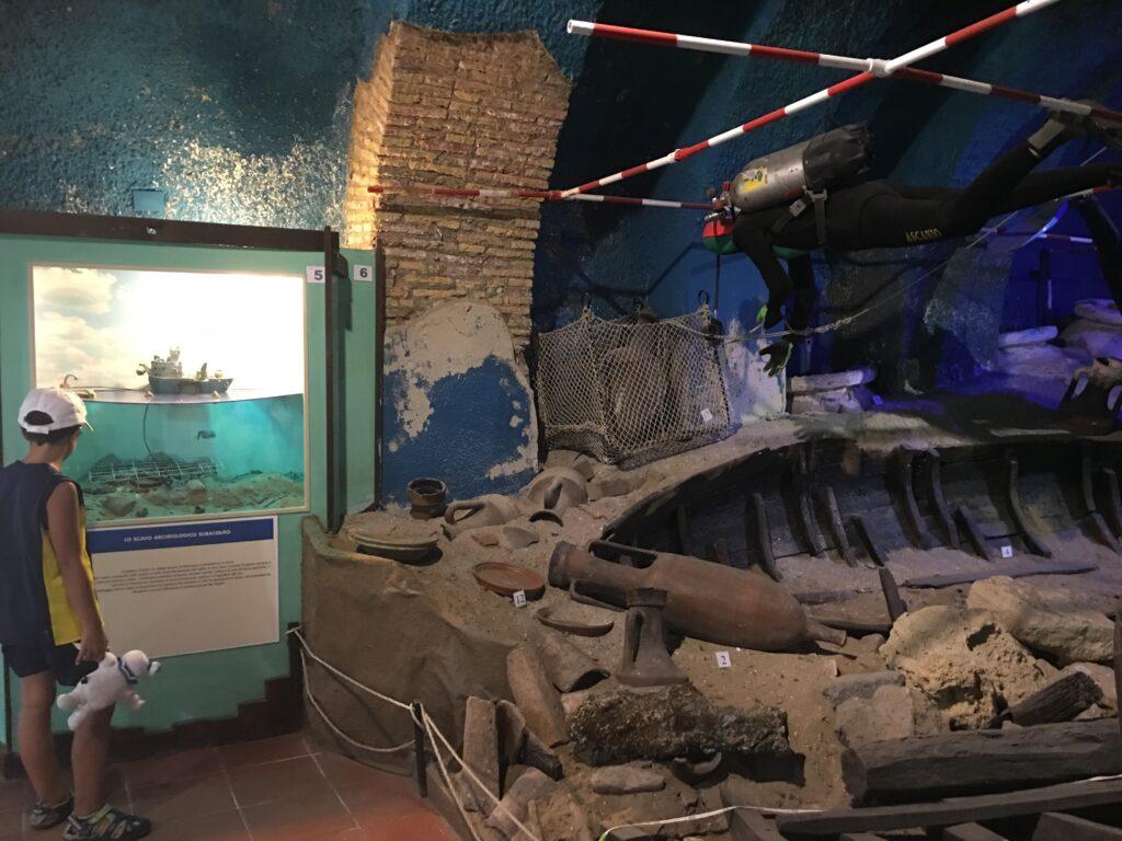 castello santa severa museo marineria