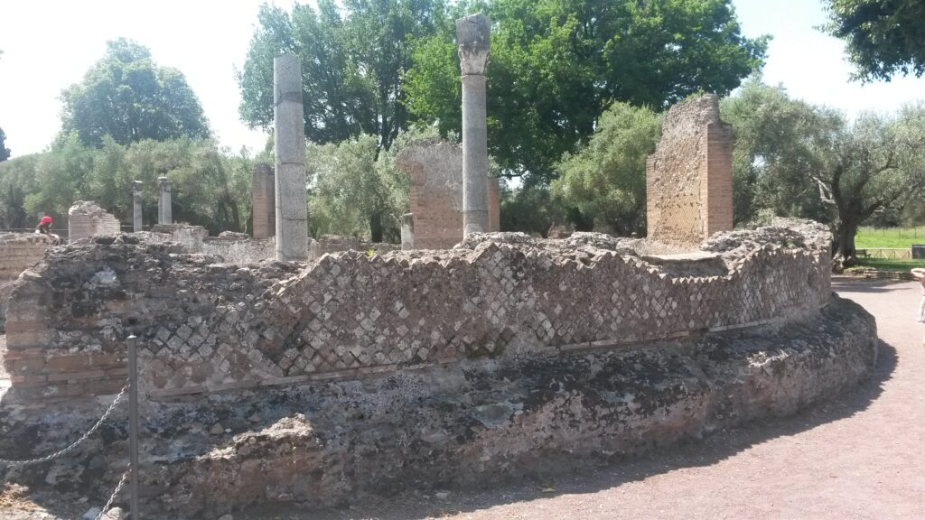 ruderi villa adriana